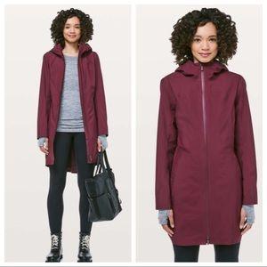 NWT {Lululemon} Rain Rebel Jacket